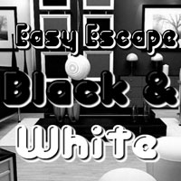 Easy Escape-Black and White