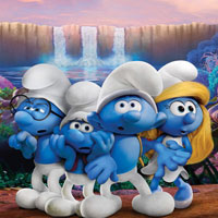 Smurfs The Lost Village-Hidden Numbers