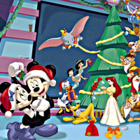 Disney Christmas Objects