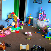 Hidden Objects-Kids Messy Room