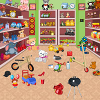 Toys Shop-Hidden Objects