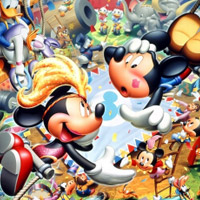 Micky Mouse in Carnival