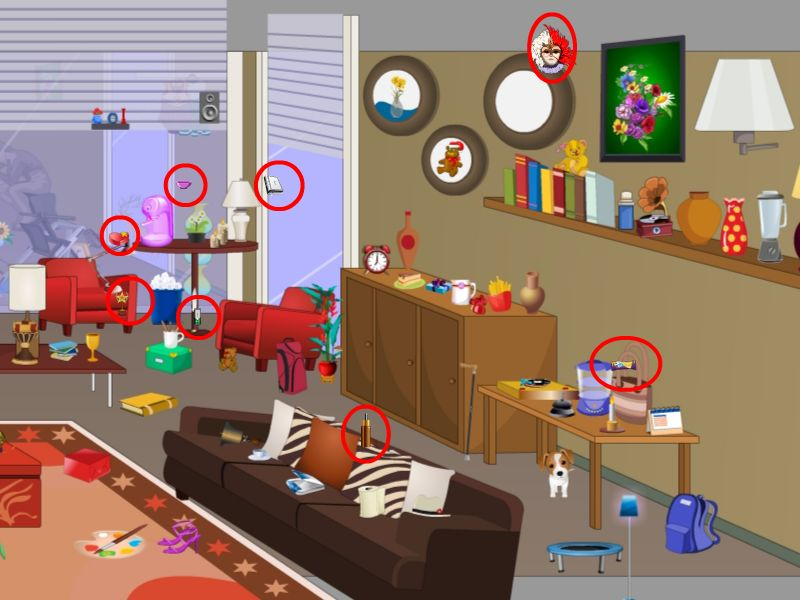HD wallpapers escape from leisure living room walkthrough