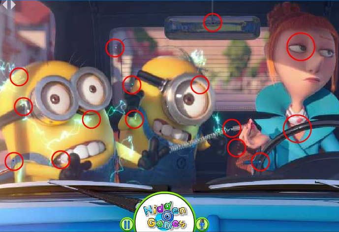 Hidden Things in Despicable Me