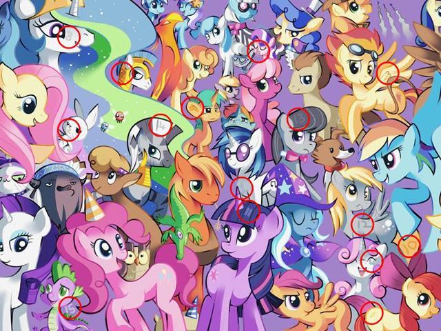 My little pony game luna