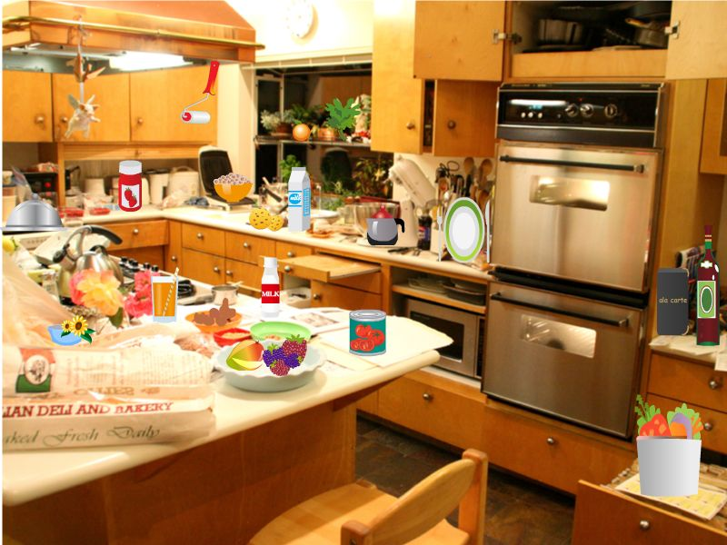 Messy Kitchen Gallery