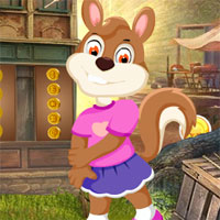 Games4King Girl Squirrel Rescue Escape