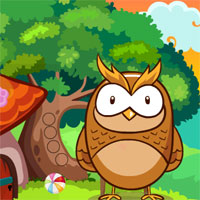 Games4King Yellow Owl Rescue