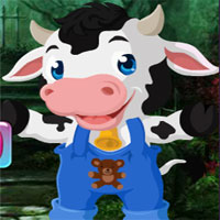 Games4king Cute Calf Rescue 2