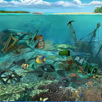 Coral Reefs Hidden Objects