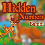 Hidden Numbers - Bambi