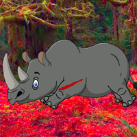 Big Rhinoceros Forest Escape