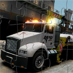 Towing Truck Jigsaw