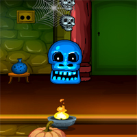 G4E Halloween Witch Doors Escape