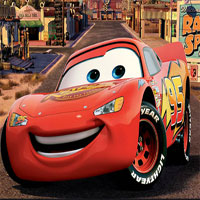 Lightning Mcqueen Maze Race Puzzle