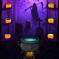 Wowescape Halloween Gothic Forest Escape