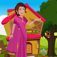 Games4King South Indian Woman Rescue