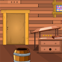 GenieFunGames Single Wooden Room Escape